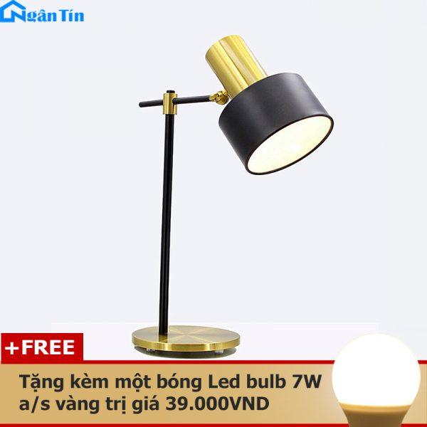 den led de ban lam viec phong ngu cao cap db502 19 ngan tin tang kem 1 bong led bulb 7w anh sang vang 1